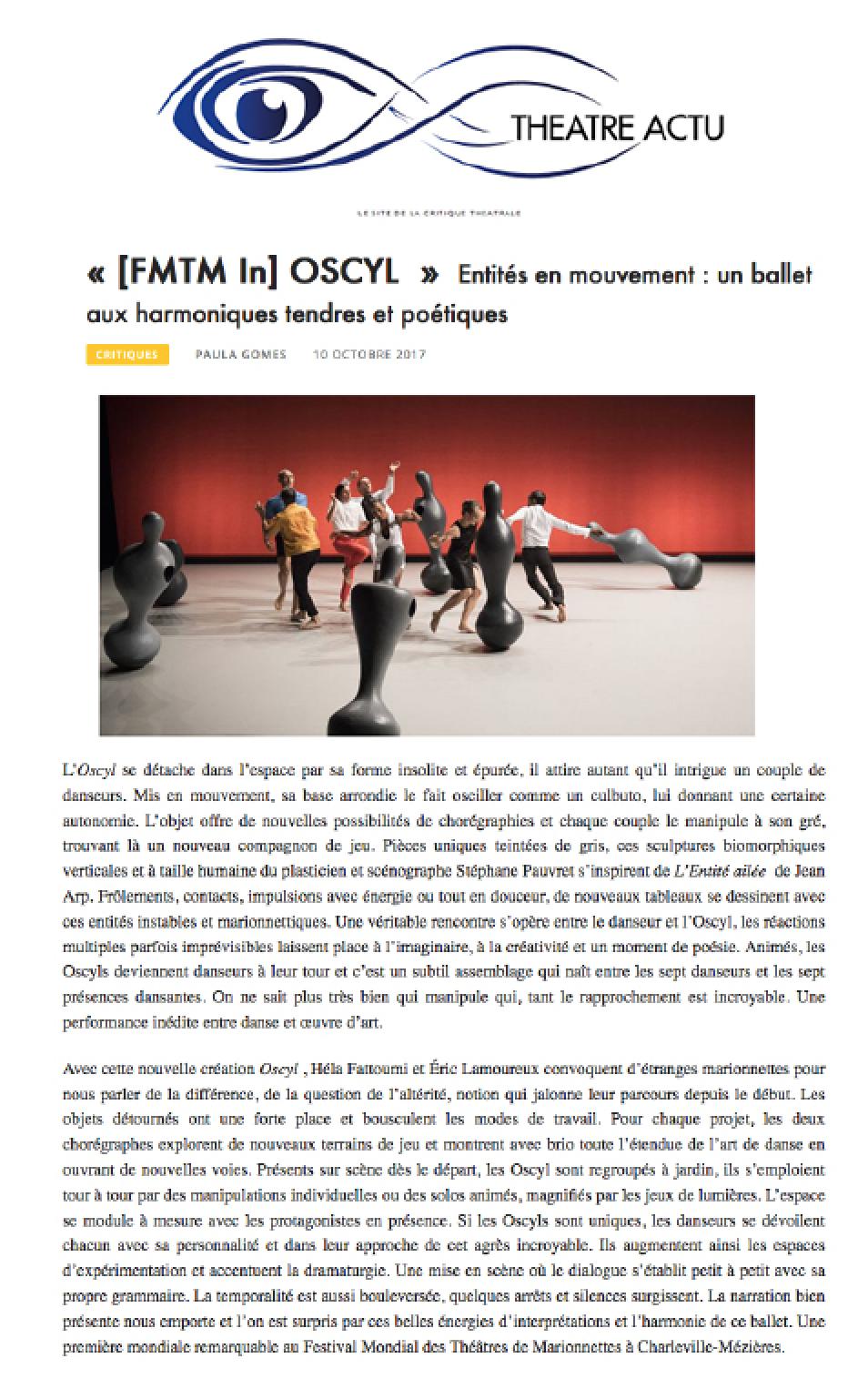 Theatre actu OSCYL bloc